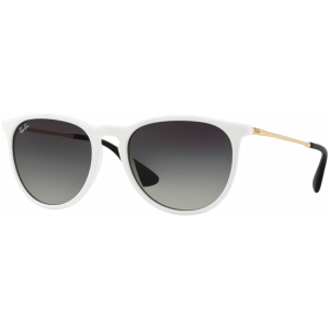 Ray-Ban Erika Shiny White Grey Gradient