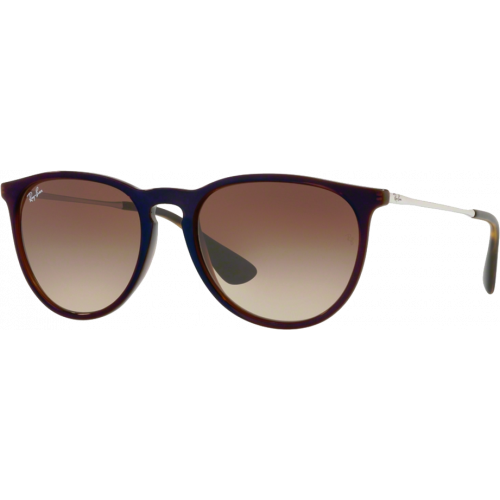 Ray-Ban Erika Brun Transparent Brun Dégradé