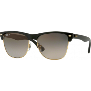 Ray-Ban Clubmaster Oversize Black Grey Gradient Polarized