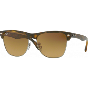 Ray-Ban Clubmaster Oversized Havana Brown Gradient Polarized