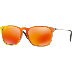 Ray-Ban Chris Orange Brown Mirror Orange