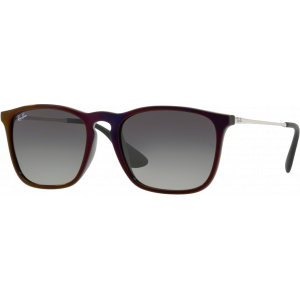 Ray-Ban Chris Noir/Rouge Gris Dégradé