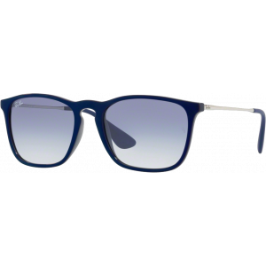 Ray-Ban Chris Shiny Blue Light Blue Gradient
