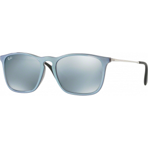Ray-Ban Chris Grey Green Mirror Silver