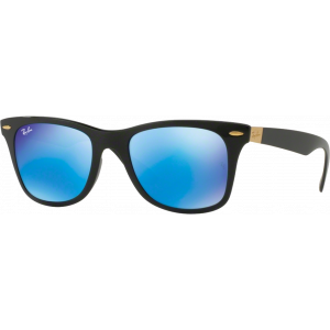 Ray-Ban Liteforce Wayfarer Matte Black Blue Flash