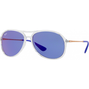 Ray-Ban Alex Transparent Bleu