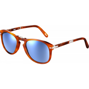 Persol 0714 Steve Mc Queen Light Tortoise Blue Polarized