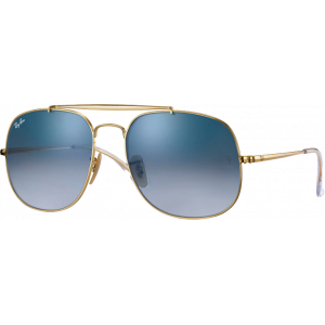 Ray-Ban General Gold Light Blue Gradient