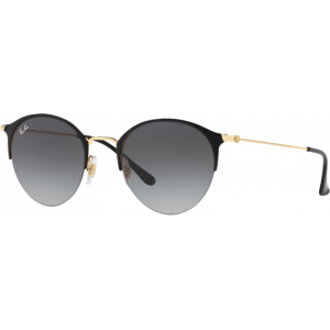 Ray-Ban RB3578 Shiny Black/Gold Grey Gradient
