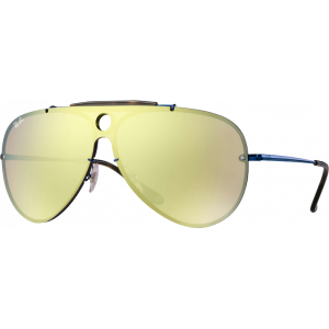 Ray-Ban Blaze Shooter Bleu Orange Miroité