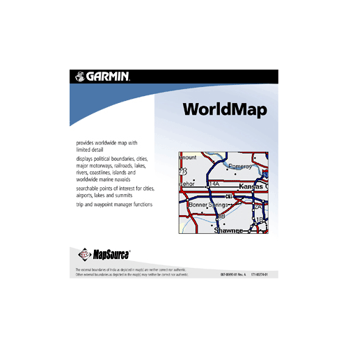MapSource World Map